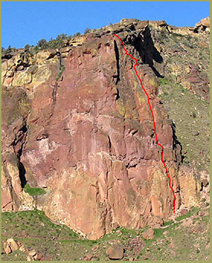 'Moscow', Smith Rock Climbing Guides, Smith Rock State Park, Oregon