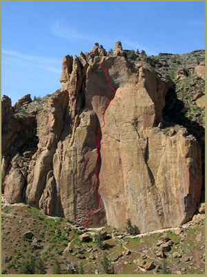 'Zebra to Zion', Smith Rock Climbing Guides, Smith Rock State Park, Oregon
