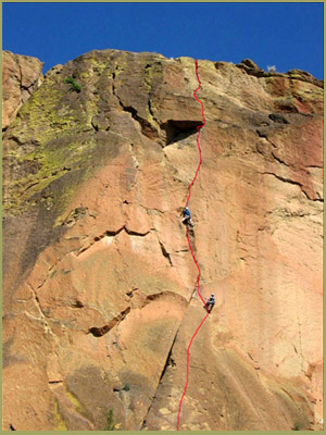 'Spiderman', Smith Rock Climbing Guides, Smith Rock State Park, Oregon